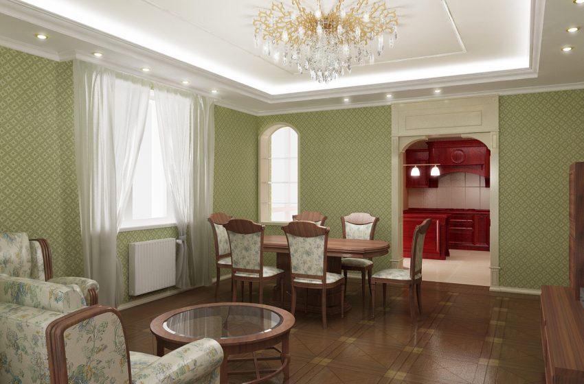 Проектирование квартиры площадью 140М². Ближняя дача 5