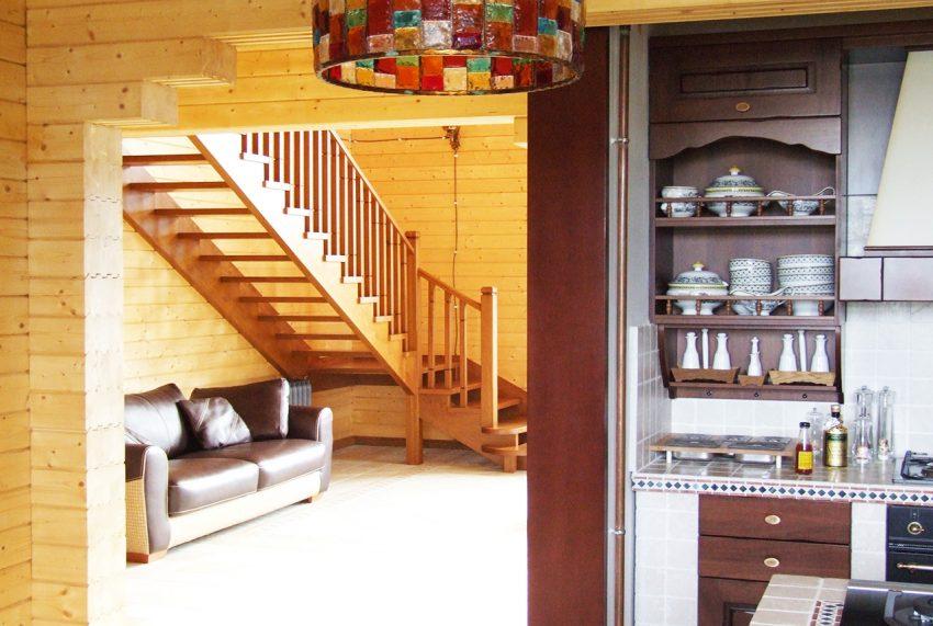 Дизайн интерьера дома из клееного бруса в Конаково 6