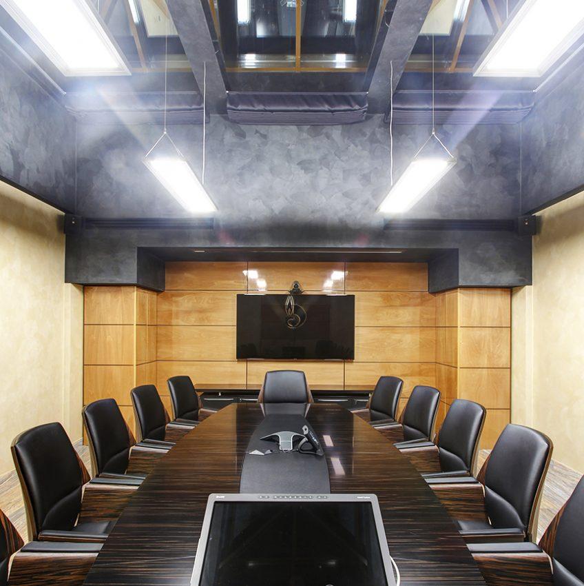 Дизайн интерьера офиса одной из компаний «Газпром» 6