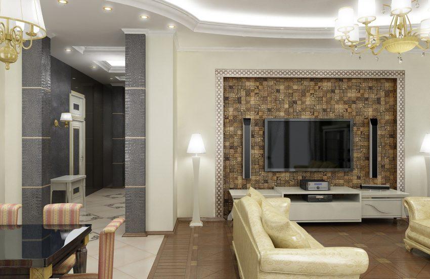Проектирование квартиры в ЖК «САДОВЫЕ КВАРТАЛЫ» 176М2 6