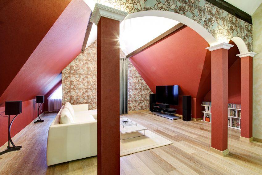 Дизайн интерьера в доме в Горках 7