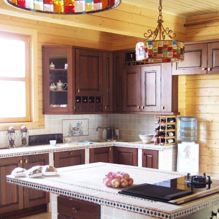 Дизайн интерьера дома из клееного бруса в Конаково 7
