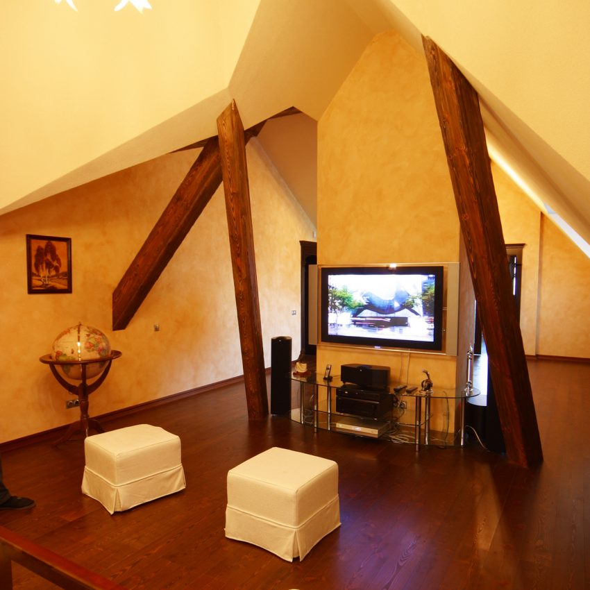 Дизайн проект интерьера четырехуровневого особняка в поселке «Екатериновка» на западе Москвы. 7
