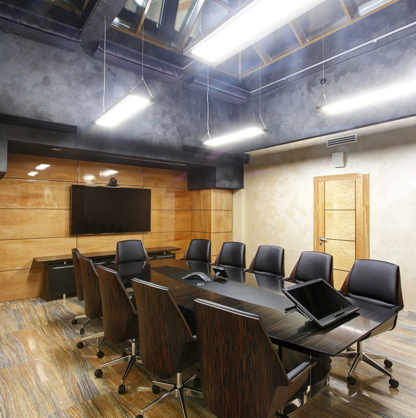 Дизайн интерьера офиса одной из компаний «Газпром» 7