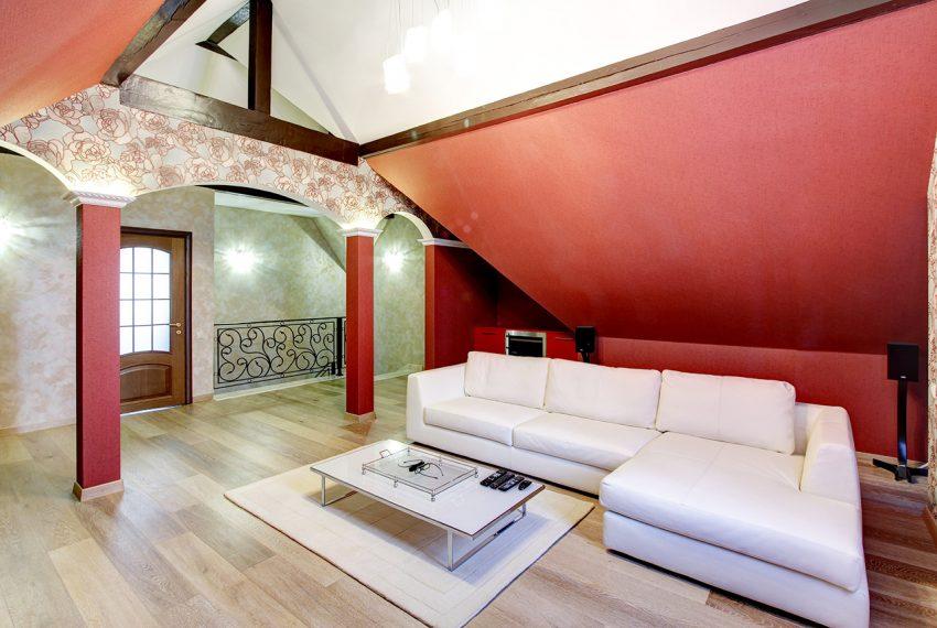 Дизайн интерьера в доме в Горках 8
