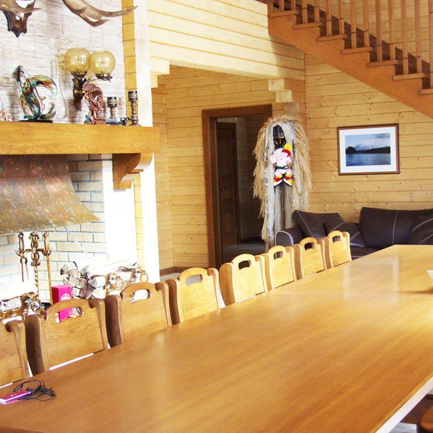 Дизайн интерьера дома из клееного бруса в Конаково 8