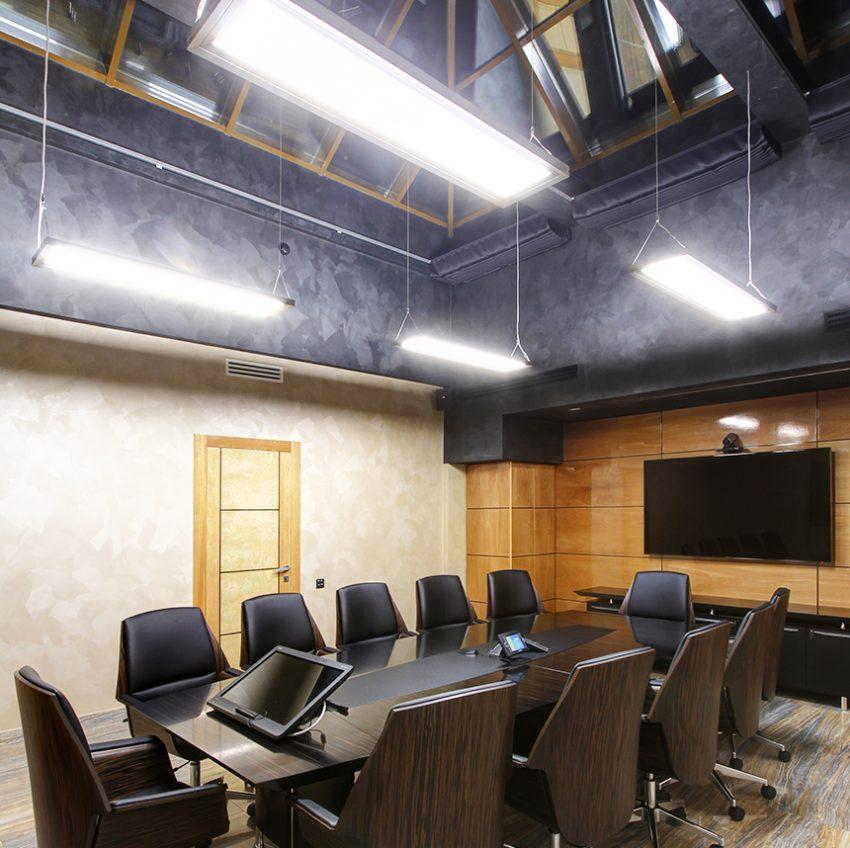 Дизайн интерьера офиса одной из компаний «Газпром» 8