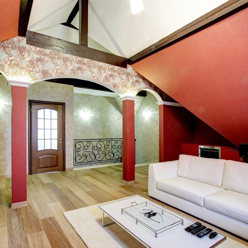 Дизайн интерьера в доме в Горках 9