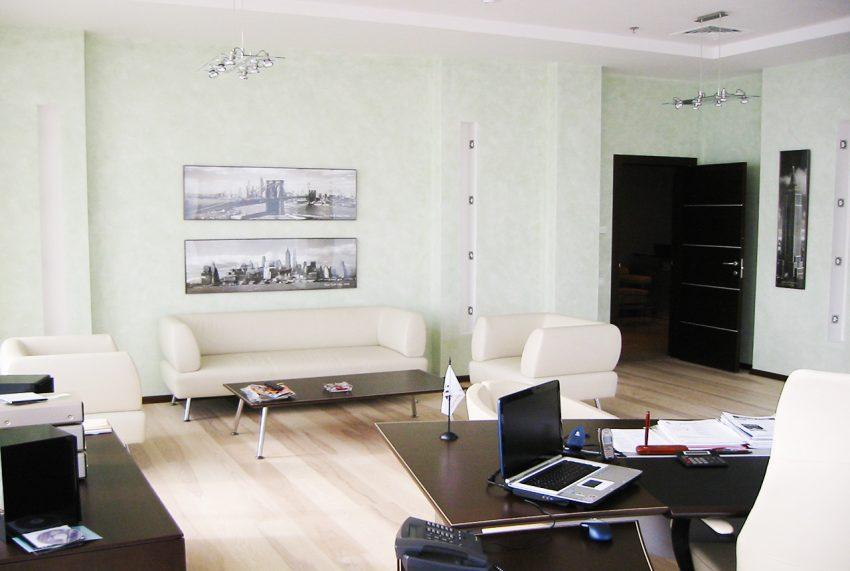 Дизайн в офисе компании «Монолит» 9