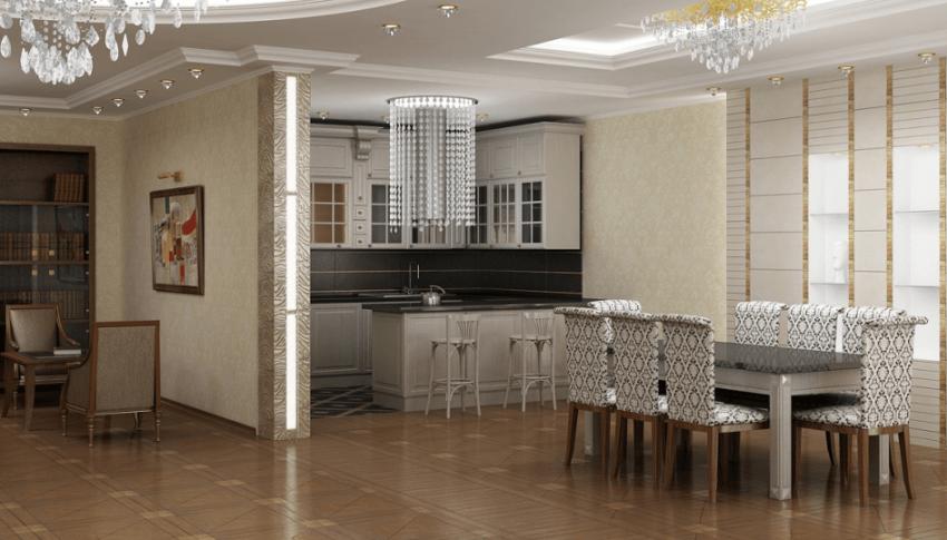 Проектирование квартиры площадью 340М² 5